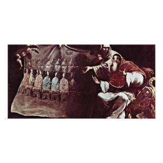 Pope Paul Iii. Inspired By Faith In The Ecumenical Custom Photo Card