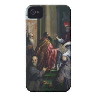 Pope Paul IV Handing over a Statute Case-Mate iPhone 4 Cases
