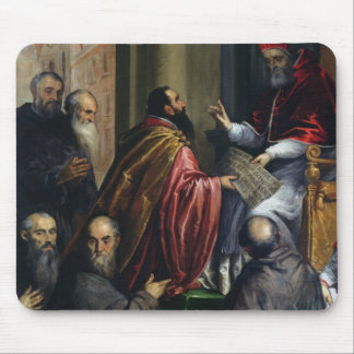 Pope Paul IV Handing over a Statute Mouse Pad