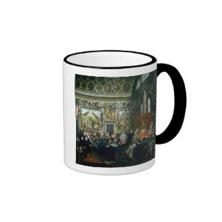 Pope Paul V  with an Audience, 1620 Ringer Mug