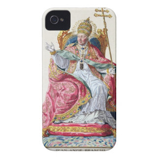 Pope Pius VI (1717-99) from 'Receuil des Estampes, iPhone 4 Case-Mate Cases