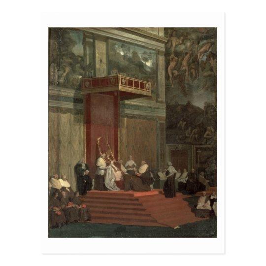 Pope Pius VII (Luigi Barnaba Chiaramonti) (1742-18 Postcard
