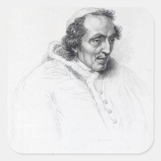 Pope Pius VII Square Sticker