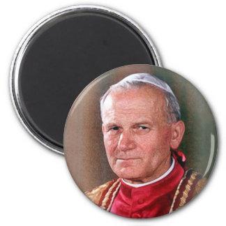 Pope Saint John Paul II Magnet