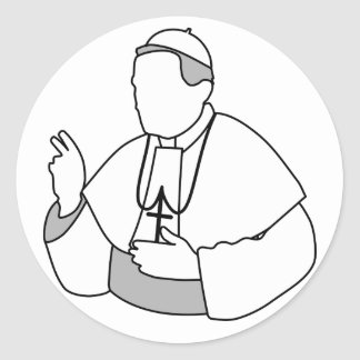 Pope Stickers