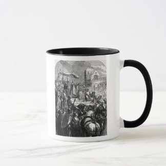 Pope Urban II  Preaching the First Crusade Mug