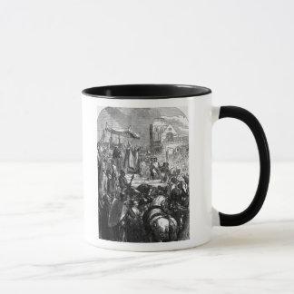 Pope Urban II  Preaching the First Crusade Mug