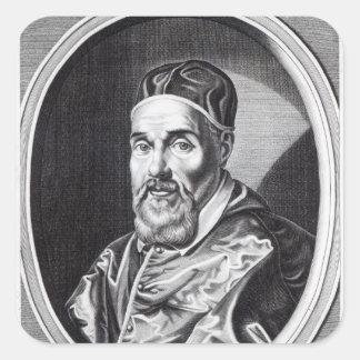 Pope Urban VIII Square Sticker