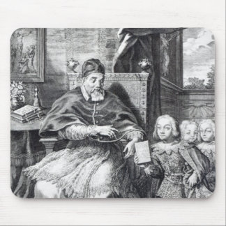 Pope Urban VIII with his nephews Mouse Pad