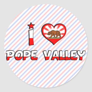 Pope Valley, CA Stickers