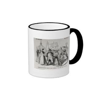 Popery or No Popery? 1850 Coffee Mugs