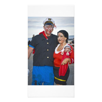 Popeye and Olive Oil  Zombies Photo Cards