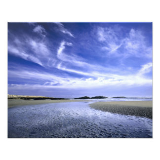 POPHAM BEACH STATE PARK, MAINE. USA. Cirrus Photo Print