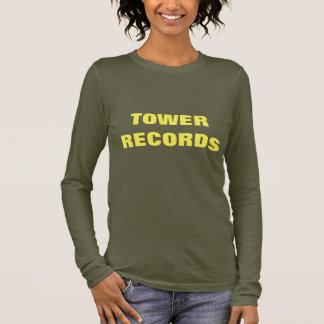 POPILOTS.COM TOWER RECORDS LONG SLEEVE T-Shirt