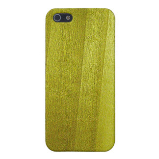 Poplar Wood Grain Cover For iPhone 5/5S