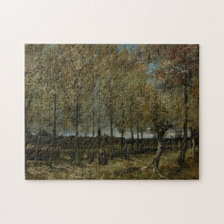 Poplars Near Nuenen by Vincent Van Gogh Jigsaw Puzzle