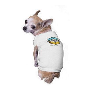 Poplocal doggie T Sleeveless Dog Shirt