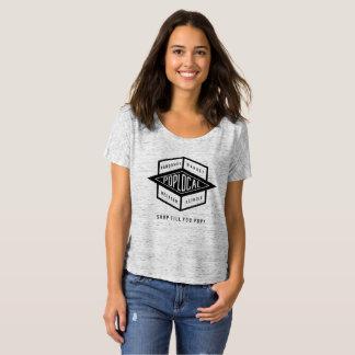 PopLocal grey T-Shirt
