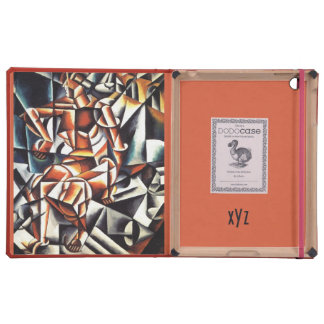 Popova's art custom monogram cases iPad case
