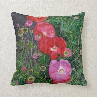 Poppies 2009 cushion