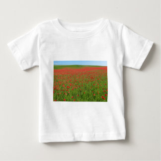 Poppies alive! baby T-Shirt