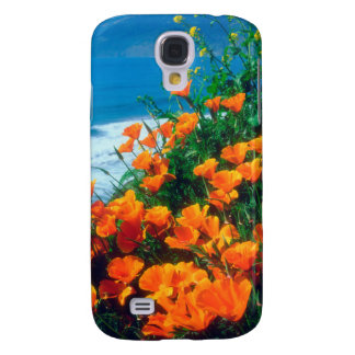 Poppies along the Pacific Coast near Big Sur Galaxy S4 Case