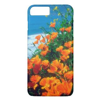 Poppies along the Pacific Coast near Big Sur iPhone 8 Plus/7 Plus Case