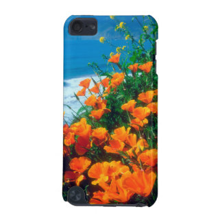 Poppies along the Pacific Coast near Big Sur iPod Touch (5th Generation) Cover