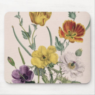 Poppies and Anemones Mouse Mat