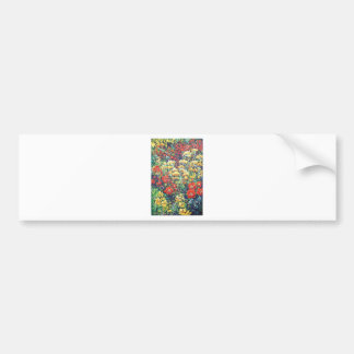 Poppies and Wildflowers Bumper Sticker