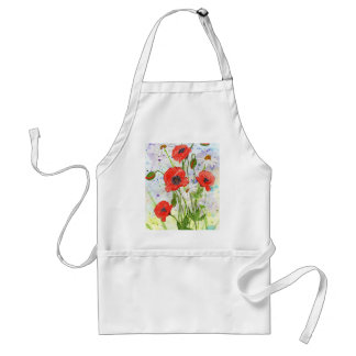 'Poppies' Apron