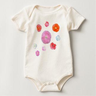 poppies baby bodysuit