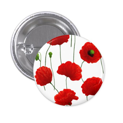 Poppies Buttons