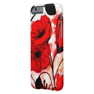 poppies barely there iPhone 6 case