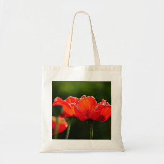 Poppies Budget Tote Bag
