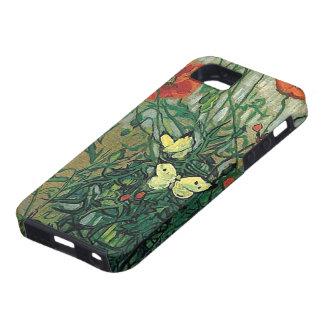 Poppies & Butterflies Van Gogh Fine Art iPhone 5 Cover