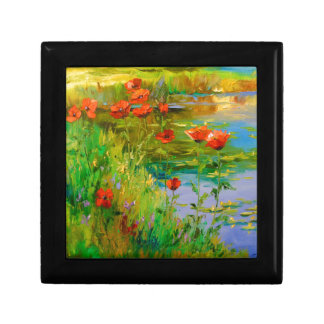 Poppies by the pond gift box