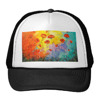 Poppies Cap