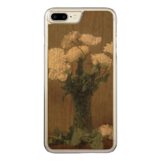 Poppies Carved iPhone 8 Plus/7 Plus Case