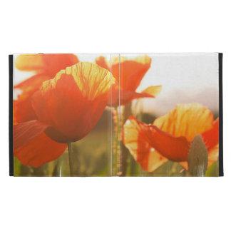 Poppies iPad Folio Cases