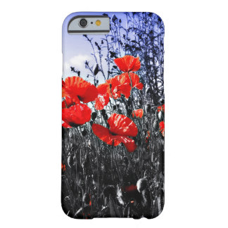 Poppies Floral poppy flower Barely There iPhone 6 Case