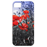 Poppies Floral poppy flower iPhone 5 Case