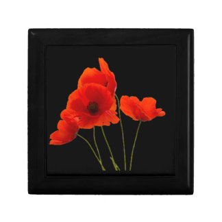 """""""Poppies"""" Jewelry Boxes"""