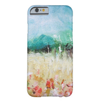 Poppies in a Cornfield iPhone 6 case ID Card