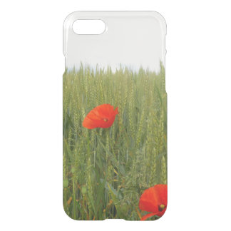 Poppies in a Wheat Field iPhone 7 Deflector Case