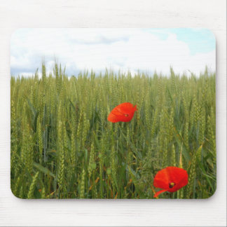 Poppies in a Wheat Field Mouse Mat