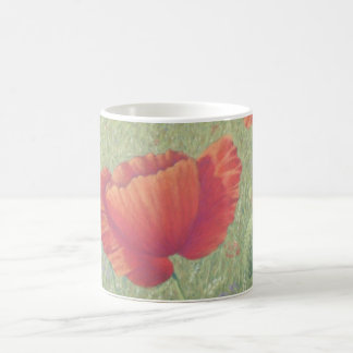 Poppies in Flanders Fields Classic White Mug