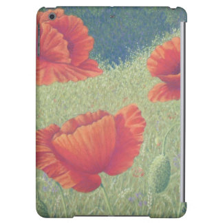 Poppies in Flanders Fields in Pastel iPad Air Case