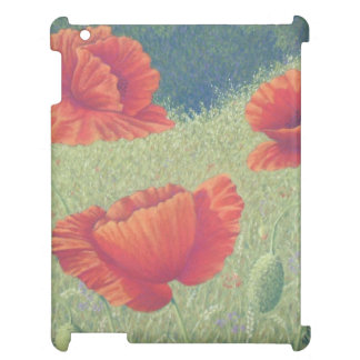 Poppies in Flanders Fields in Pastel iPad Case