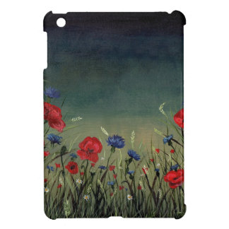 Poppies ipad mini case